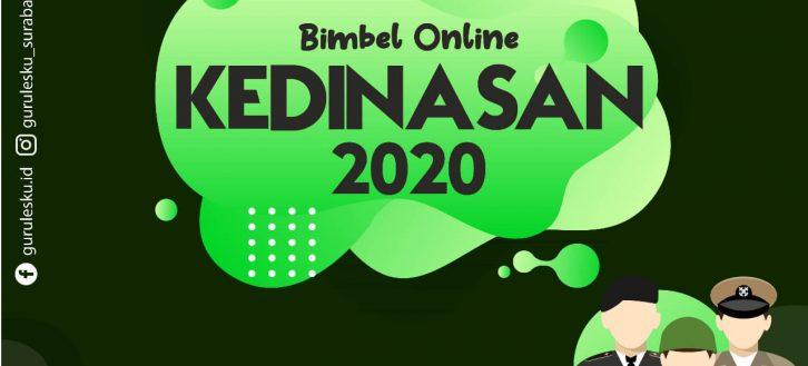 Bimbel Online Kedinasan Surabaya 2020