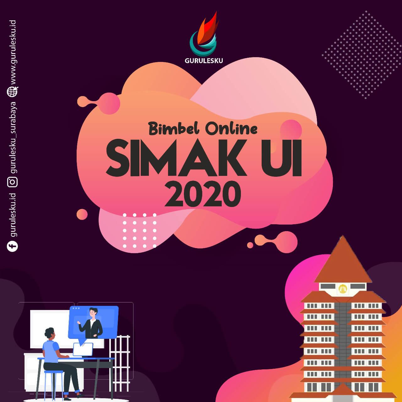 Bimbel Online SIMAK UI Surabaya 2020